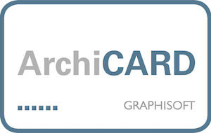 ARCHICAD mit ArchiCARD