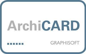 Archicad mit ArchiCARD